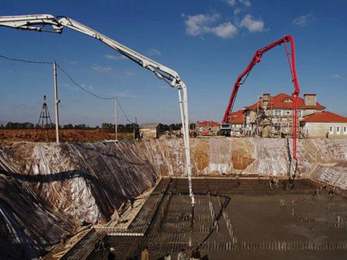 Бетон выгрузка купить шарики полистирола для бетона